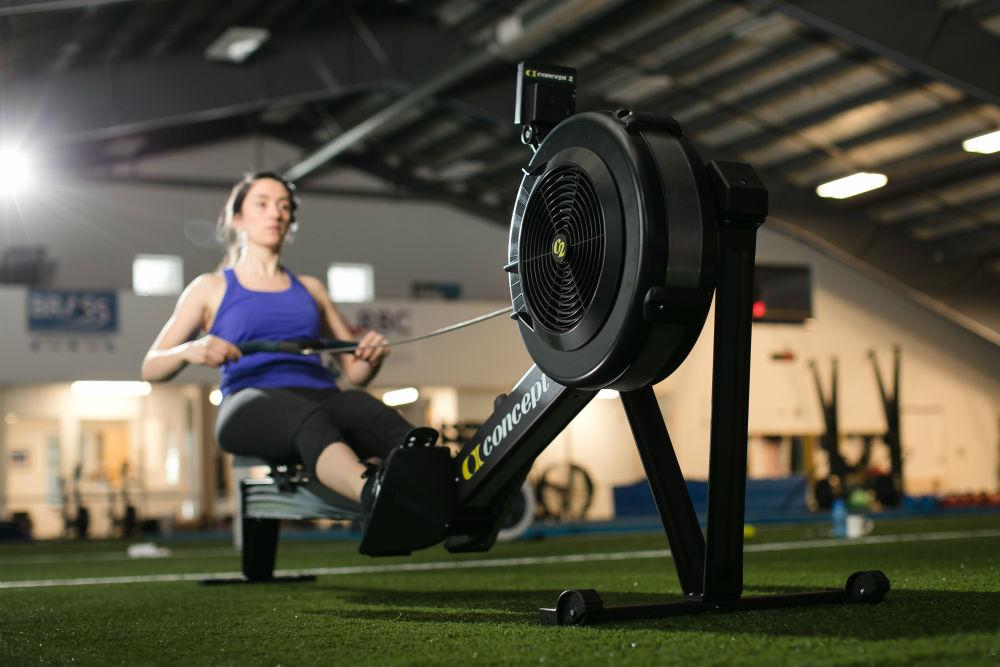 donna su indoor rower