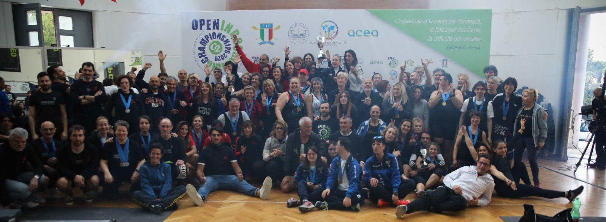 Partecipanti C2 Open Indoor Championships 2020