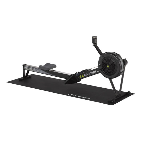 Tappetino con Indoor Rower