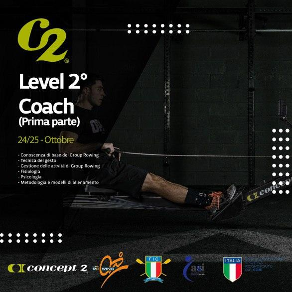 Corso level 2° coach